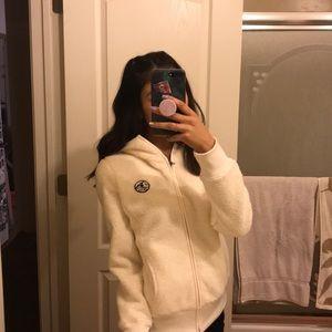 super soft zip up hoodie